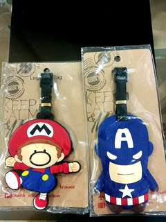 Superhero Luggage Tag: Buy 1 for RM15, buy 2 for RM20 only!!! Still in packaging #20under