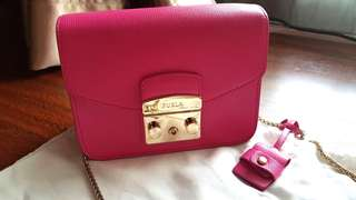 Authentic 100% preloved furla metropolis