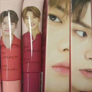 (WTB) WANNA ONE X INNISFREE LIPBALM
