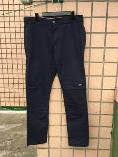 🚚 Dickies 休閒棉褲(藍色)