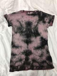 Topman tie dye shirt