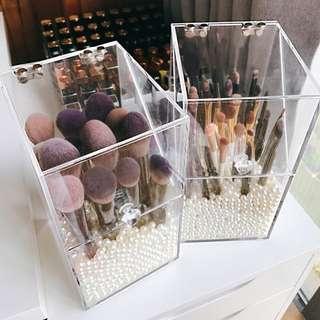 Acrylic Make Up Brushes Organizer *FREE PEARL)