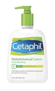 Cetaphil daily advance hydrating lotion