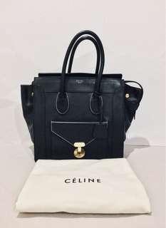 Authentic Celine Mini Luggage Envelope Tote Bag LIMITED EDITION RARE