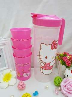 💋Hello Kitty     Pitchel (w/4pcs. cups)      300php      #LC