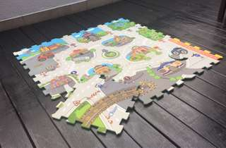Puzzle Play Mat (3x3 feet)