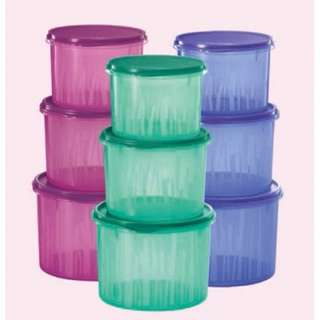 Tupperware Textured Canister Set