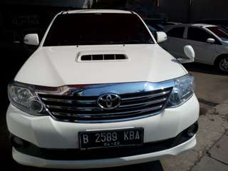 Toyota fortuner VNT at 2014