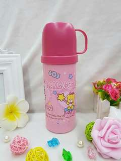 💋Hello Kitty      600ml thermal thumbler     280php.      #LC
