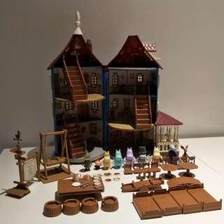 🚚 稀有 2014年 Martinex社製 嚕嚕米的家 Moomin house 慕敏的家
