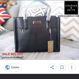 Looking for : Charles & Keith black bag