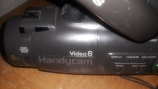 Sony Video8 handi- camcorder