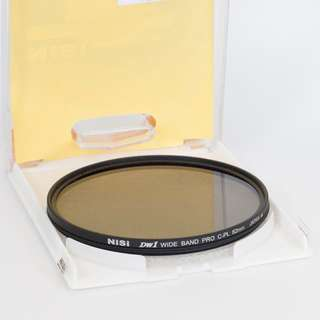 82mm Nisi Thin Profile Frame Wide band Pro Circular Polarizer CPL Filter