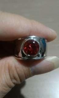 Red topaz