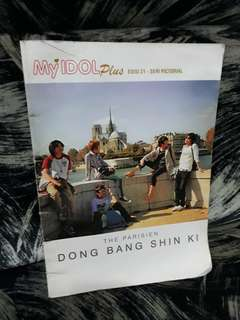 My Idol Dong Bang Shin Ki Parisien Pictorial