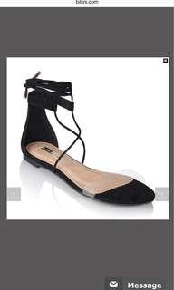 Billini black sandals