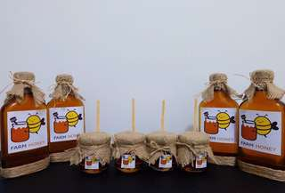 PURE RAW FARM HONEY