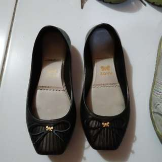 🔆 Zaxy Black Ballet Shoes US12