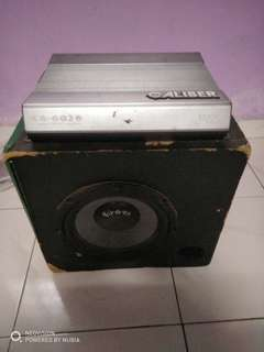 Amplifier with Subwoofer