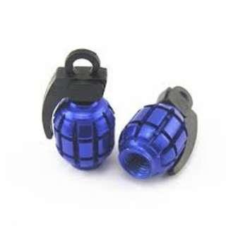 Tube Valve Cover Blue