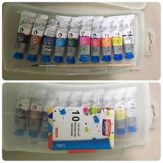 baeoque water colour 10 colour 10ml