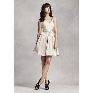 Vera Wang Short Halter Dress