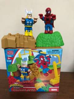 Marvel Spider-Man and Thor