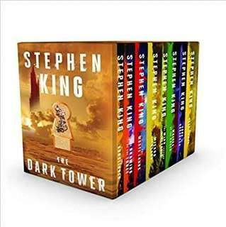 Dark Tower Series by Stephen King 1 – 8 Ebook