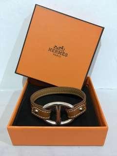 Authentic Hermes Granville Single Tour Bracelet
