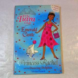 """📙The Tiara Club at Emerald Castle """"Princess Rachel and the Dancing Dolphin"""""""