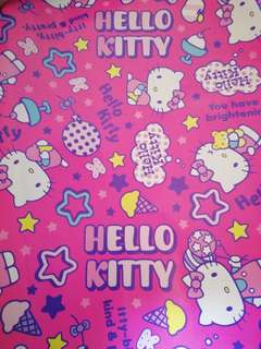 Hello Kitty wrapping paper 1 sheet rm2 NEW