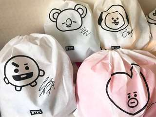 ON HAND OFFICIAL BT21 LINE