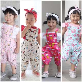 🌈 Cute Girls Overall Sets 💕
