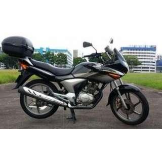 Black Honda CBF150 for sale
