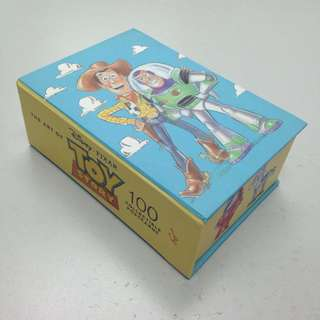 The art of toy story 100 collectible postcards 反斗奇兵明信片