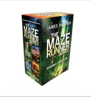 The Maze Runner Series 1 - 4 ebook
