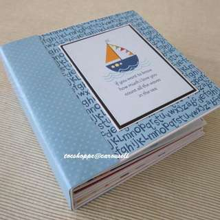 Tiny Tots Scrapbook Album