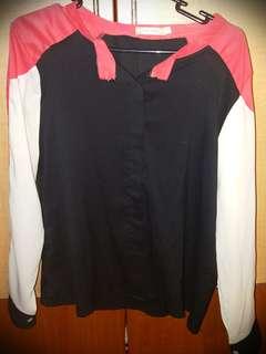 Long Sleeved Chiffon Shirt