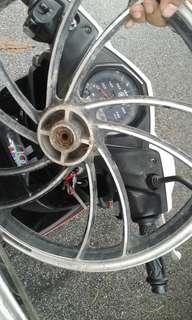 Rim motor