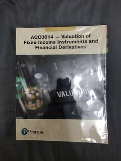 ACC3614 - Valuation of Fixed Income Instruments and Financial Derivatives