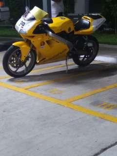 cagiva mito evo2 6 speed 125cc for sale