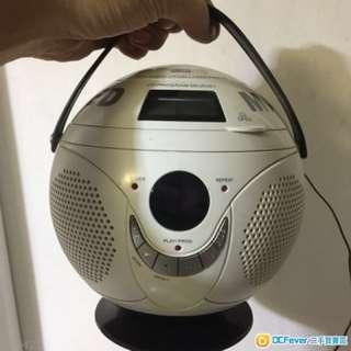 MAnchester CD 機。全新放置一段時間。正常與否不保證。底部有曼徹斯特雷射標籤