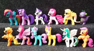 My Little Pony designs for your keychain/ bagcharm