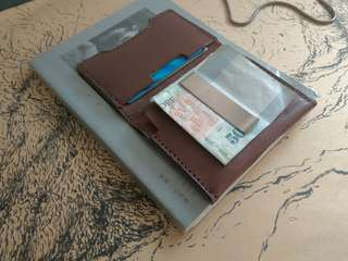Special OFFER!!  Leathet Money Clip/Purse