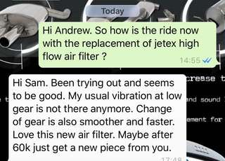 Audi A3 1.4TFSI replaces jetex high flow performance drop in air Filter which is 99% filtration at 2.8 microns washable & reusable ..#jetexfiltersasialink