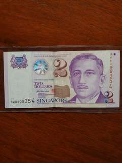 0WW Sg $2 Replacement OWW