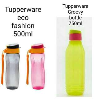 Botol Minum Tupperware eco fashion, groovy bottle
