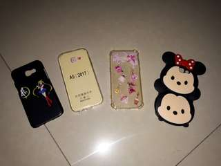 TAKE ALL 4 Pcs CASE SAMSUNG A5 2017