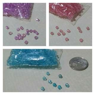 Set of Crafting Beads - get all 3 colors for P70.00