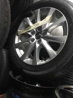 Mazda 6 rims set